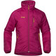 Bergans Girls Josten Lt Insulated Jacket Cerise/Dusty Cerise/Yellow Green